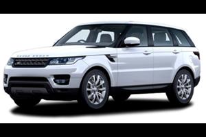 Land Rover Range Rover Sport com fundo branco
