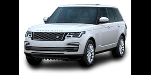 Land Rover Range Rover Vogue fundo branco