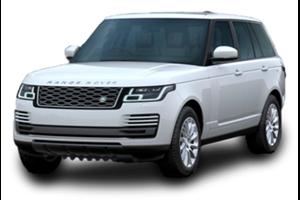 Land Rover Range Rover Vogue com fundo branco