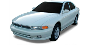 Mitsubishi Galant fundo branco