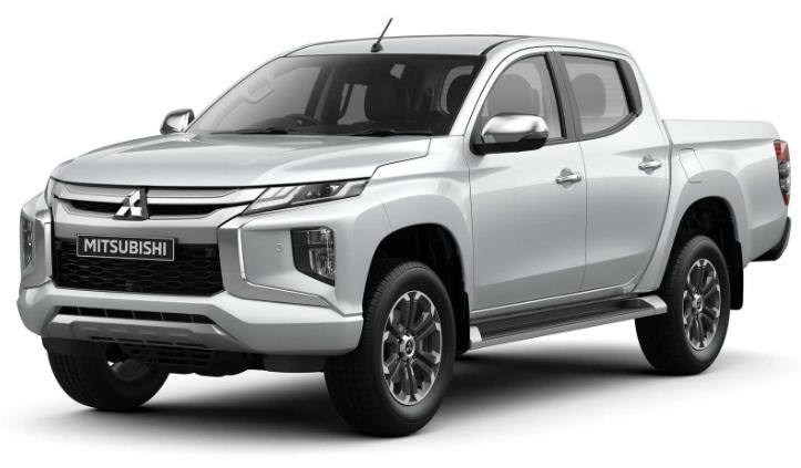 Mitsubishi L200 com fundo branco