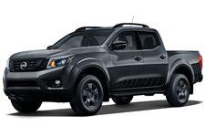 Nissan Frontier com fundo branco