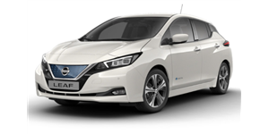 Nissan Leaf fundo branco