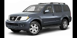 Nissan Pathfinder fundo branco