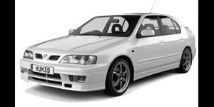Nissan Primera fundo branco