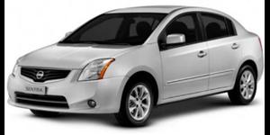Nissan Sentra fundo branco