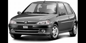 Peugeot 106 fundo branco