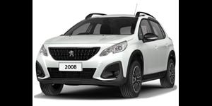 Peugeot 2008 fundo branco