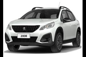 Peugeot 2008 com fundo branco