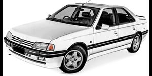 Peugeot 405 fundo branco