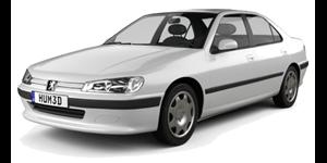 Peugeot 406 fundo branco
