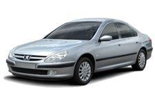 Peugeot 607 com fundo branco