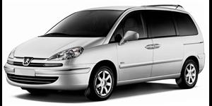Peugeot 807 fundo branco