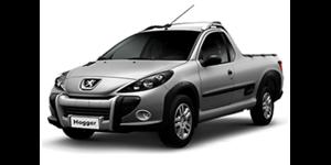 Peugeot Hoggar fundo branco