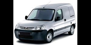 Peugeot Partner fundo branco