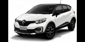 Renault Captur fundo branco