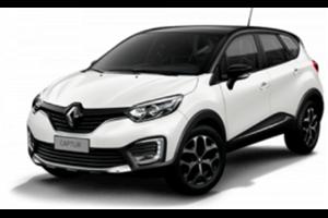 Renault Captur com fundo branco