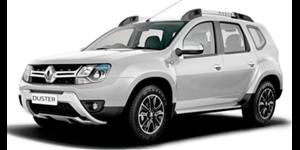 Renault Duster fundo branco