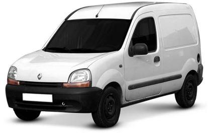 Renault Express com fundo branco