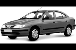 Renault Laguna com fundo branco