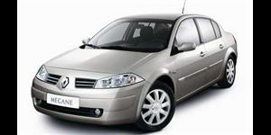 Renault Megane fundo branco
