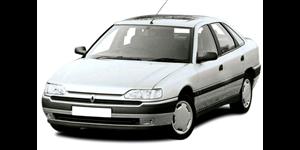 Renault Safrane fundo branco