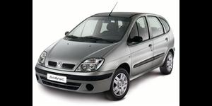 Renault Scenic fundo branco