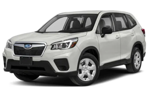 Subaru Forester fundo branco
