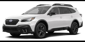 Subaru Outback fundo branco