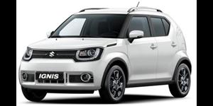 Suzuki Ignis fundo branco