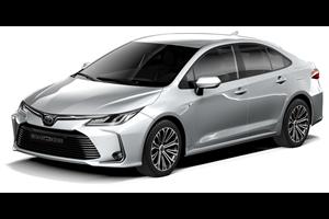 Toyota Corolla fundo branco