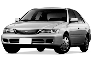 Toyota Corona fundo branco