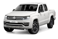 Volkswagen Amarok com fundo branco