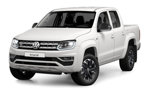 Volkswagen Amarok fundo branco