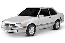 Volkswagen Apollo com fundo branco