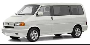 Volkswagen Caravelle fundo branco