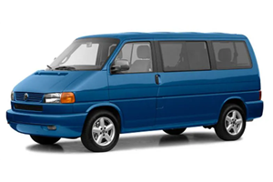 Volkswagen Eurovan fundo branco