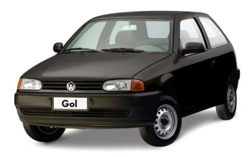 Volkswagen Gol G1 com fundo branco