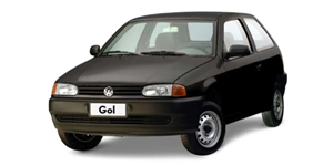 Volkswagen Gol G1 fundo branco
