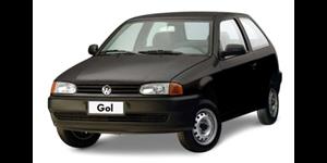 Volkswagen Gol G2 fundo branco