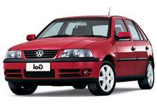 Volkswagen Gol G3 com fundo branco