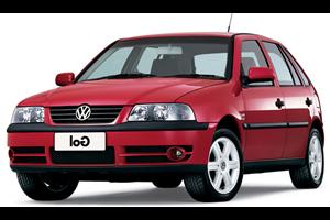 Volkswagen Gol G3 fundo branco