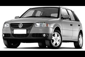 Volkswagen Gol G4 fundo branco