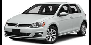 Volkswagen Golf fundo branco