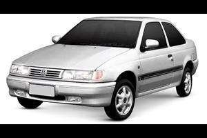 Volkswagen Logus fundo branco