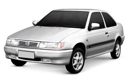 Volkswagen Logus com fundo branco