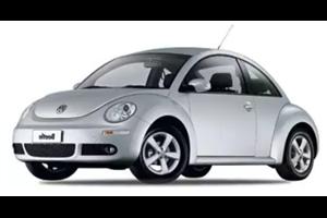 Volkswagen New Beetle fundo branco