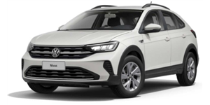 Volkswagen Nivus fundo branco