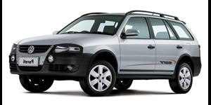 Volkswagen Parati fundo branco