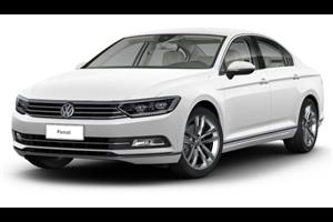 Volkswagen Passat fundo branco